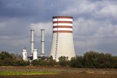 Elektrische centrale voor elektriciteit Stock Fotografie