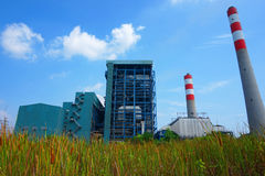 Elektrische centrales Stock Afbeelding
