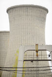 Elektrische centraleschoorstenen Stock Fotografie
