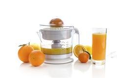 Elektrische citrusvrucht juicer royalty-vrije stock foto's