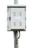 Elektrische controledoos Stock Foto's
