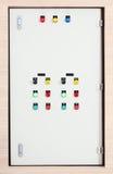 Elektrische controledoos Stock Afbeelding