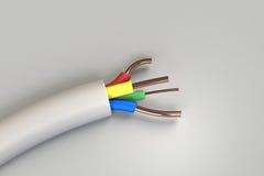 Elektrische Drähte Lizenzfreies Stockbild