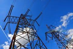 Elektrische Drähte stockfotos