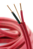 Elektrische Drähte Lizenzfreie Stockbilder