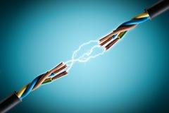 Elektrische Draad royalty-vrije stock fotografie