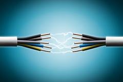 Elektrische Draad royalty-vrije stock afbeelding