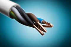 Elektrische Draad stock afbeelding