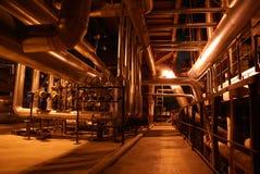 Elektrische elektrische centrale Royalty-vrije Stock Fotografie