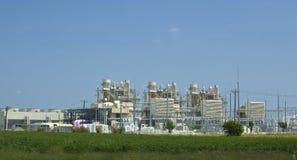 Elektrische elektrische centrale Royalty-vrije Stock Afbeeldingen
