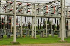 Elektrische elektrische centrale Royalty-vrije Stock Foto