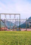 Elektrische Elektrische centrale Royalty-vrije Stock Afbeelding