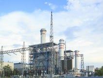 Elektrische elektrische centrale in zhuhai China stock afbeelding