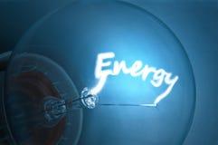Elektrische Energie. Stockbild