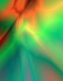Elektrische Farben Stockfoto