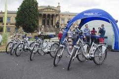 Elektrische fiets Royalty-vrije Stock Afbeelding