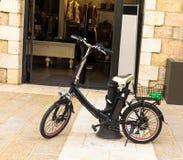 Elektrische fiets Stock Foto's