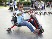 Elektrische fiets Royalty-vrije Stock Fotografie