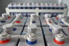 Elektrische gelijkstroom-batterij Royalty-vrije Stock Fotografie