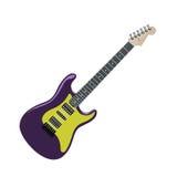 Elektrische gitaar Royalty-vrije Stock Afbeelding