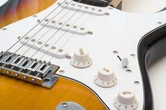 Elektrische gitaar. Stock Foto