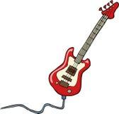 Elektrische gitaar Stock Afbeeldingen
