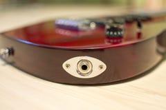 Elektrische gitaar Royalty-vrije Stock Afbeeldingen