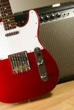 Elektrische gitaar en ampère #2 Stock Foto's