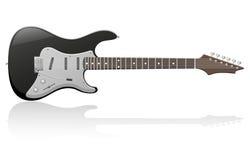 Elektrische gitaar vectorillustratie vector illustratie