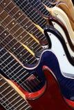 Elektrische gitaren Royalty-vrije Stock Afbeeldingen