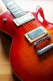 Elektrische Gitarre Lizenzfreies Stockfoto