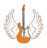 Elektrische Gitarre Lizenzfreies Stockbild