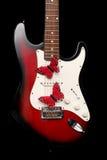 Elektrische Gitarre Stockbild