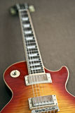 Elektrische Gitarre Les Paul in der Art Lizenzfreies Stockfoto