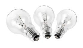 Elektrische Glühlampegruppe Lizenzfreies Stockfoto