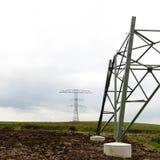 Elektrische Gondelstiele Lizenzfreies Stockfoto