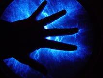 elektrische Hand lizenzfreie stockfotografie