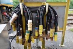 Elektrische Hochleistungsadapter Lizenzfreie Stockfotos