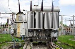 Elektrische Hochspannungsausrüstung Stockfotos