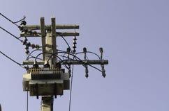 Elektrische Hochspannungsnebenstelle Lizenzfreie Stockfotos