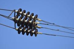Elektrische Isolatoren Stockfotografie