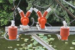 Elektrische Isolierung Stockfoto