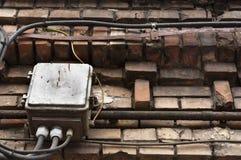 Elektrische Kästen lizenzfreies stockbild