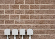 Elektrische Kästen Lizenzfreies Stockfoto