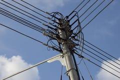 Elektrische kabel Stock Foto