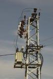 Elektrische kabel Royalty-vrije Stock Fotografie