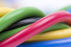 Elektrische kabel Royalty-vrije Stock Afbeelding