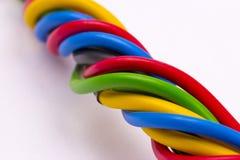 Elektrische kabel Royalty-vrije Stock Afbeeldingen