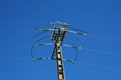 Elektrische kabels Stock Foto's