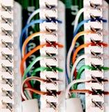 Elektrische Kabelverbindungen Stockfoto - Bild von haupt, zeile ...